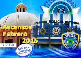 LISTADO ASCENSOS POLICIA NACIONAL 2015
