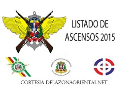 ASCENSOS EJERCITO NACIONAL MARINA DE GUERRA Y FUERZA AEREA 2015