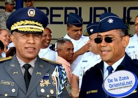 Fuerza aerea y policia nacional