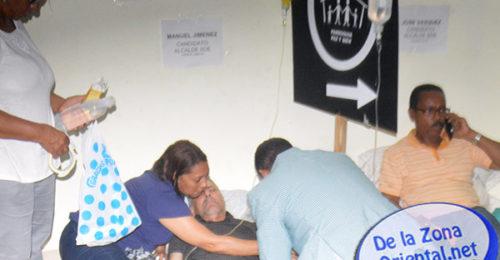 Por: Carlos Carlos Rodriguez / DELAZONAORIENTAL.NET Santo Domingo Este-Este Lunes, los aspirantes a alcaldes que reclaman la nulidad de las elecciones en este municipio cumplen su cuarto día de huelga […]