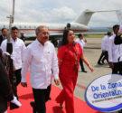 REDACCIÓN DELAZONAORIENTAL.NET Panamá.- El presidente Danilo Medina llegó este domingo a Panamá, para estar presente en la ceremonia inaugural de la ampliación del Canal de Panamá, a la que fue […]