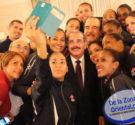 """REDACCIÓN DELAZONAORIENTAL.NET """"Gracias por proporcionar esta nueva alegría al pueblo dominicano, que siempre sigue con interés las brillantes actuaciones del equipo"""", dijo el presidente Danilo Medina en un mensaje de […]"""
