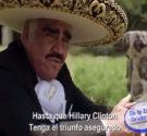"""REDACCIÓN DELAZONAORIENTAL.NET HIllary Clinton ya tiene su propio corrido, con un intérprete de lujo que es ni más ni menosDon Vicente Fernández. Titulado""""El Corrido de Hillary Clinton"""", el tema lanza […]"""