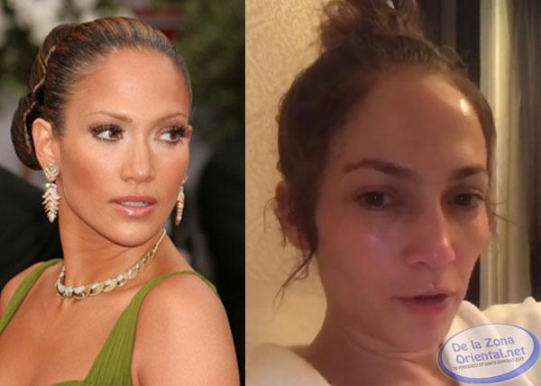 Jennifer López muestra su verdadero yo antes de presentar su