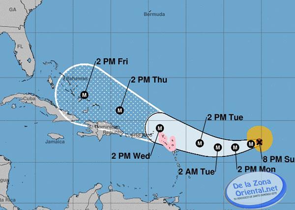 Boletín actualizado sobre el huracán Irma