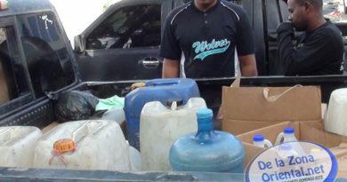 PN ocupa 11 galones de Clerén en San Luis