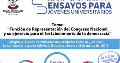 Cámara de Diputados presenta concurso para jovenes universitarios, más de $200 mil en premios