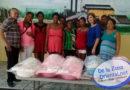 Vice sindica de San Luis realiza amplio operativo  social en beneficio de mujeres y niños de escasos recursos