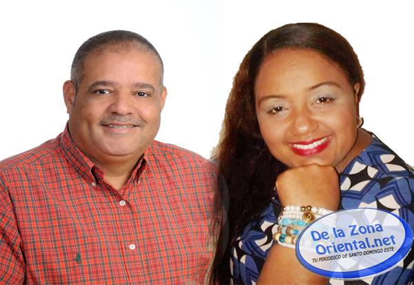 Candidato a alcalde del DM San Luis, Rodolfo Valera, escoge su compañera de boleta - Periodico De la Zona Oriental