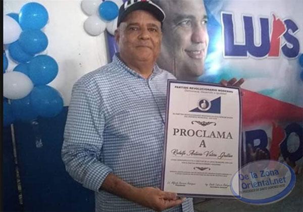 ¨Fuego a la lata¨, consigna de Rodolfo Valera al ser proclamado candidato a sindico del PRM en San Luis - Periodico De la Zona Oriental